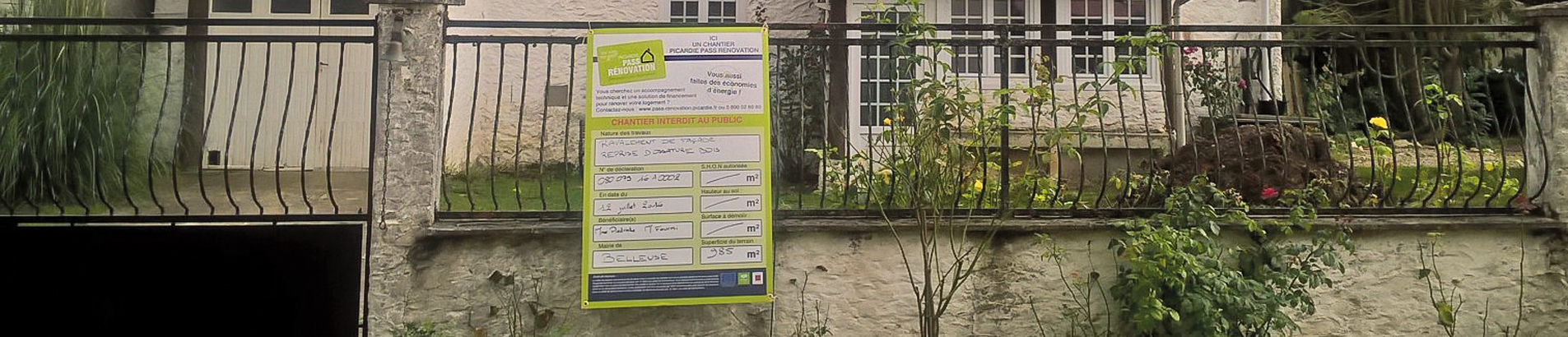 Picardie Pass Rénovation Emploi local