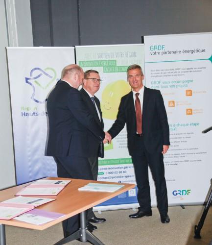 Partenariat GrDF et Picardie Pass Rénovation