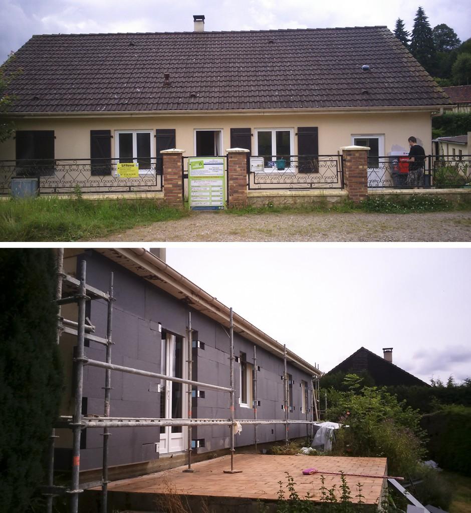 Rénovation énergétique La Chapelle aux Pots
