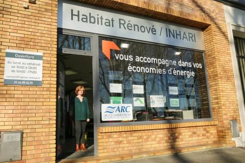 Locaux de la plateforme Habitat Rénové à Compiègne