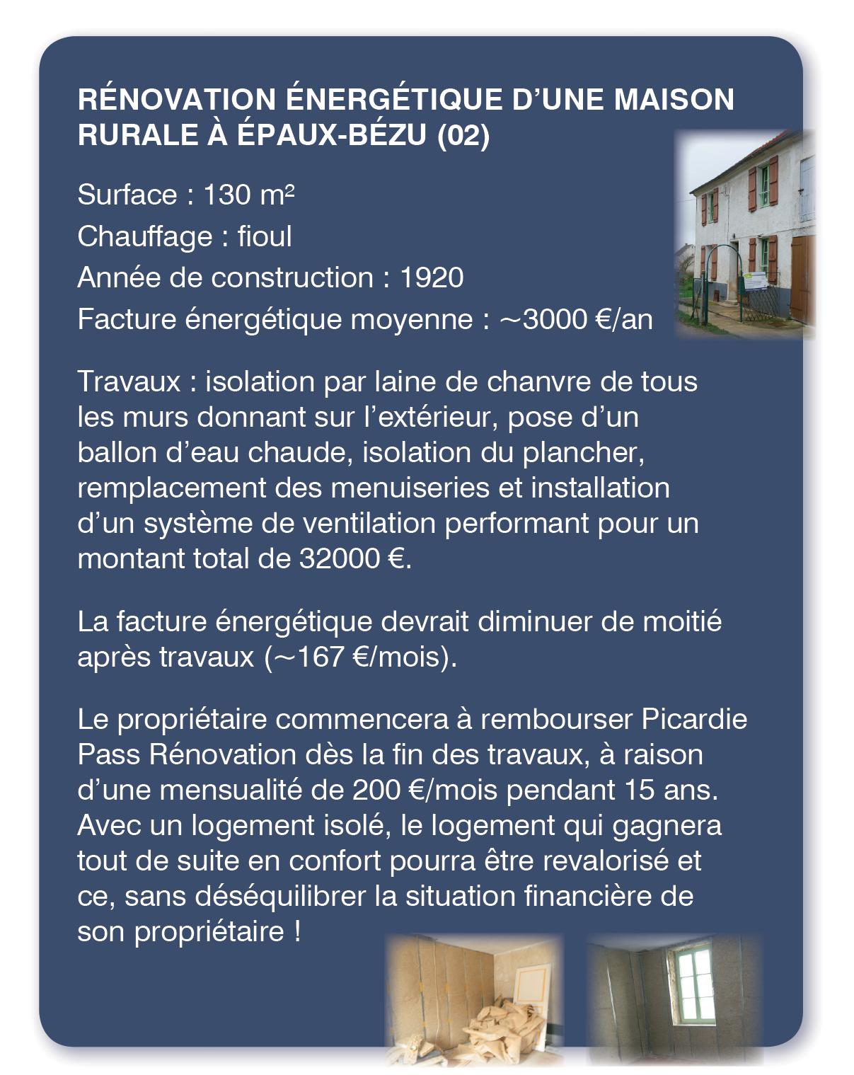 Visite chantier ouvert au public à Epaux Bezu