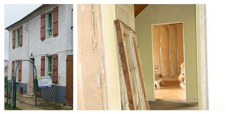 Visite d'un chantier Picardie Pass Rénovation