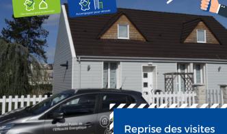 Reprise des visites et mise en place d'un protocole sanitaire - Hauts-de-France Pass Rénovation